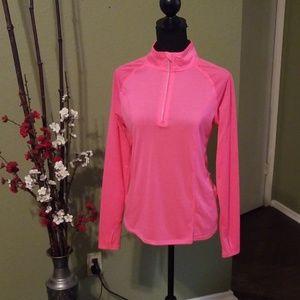 Pink active wear top
